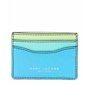Marc Jacobs Saffiano card case